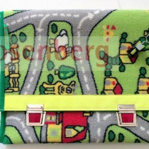 Taschen aus Verkehrsteppich