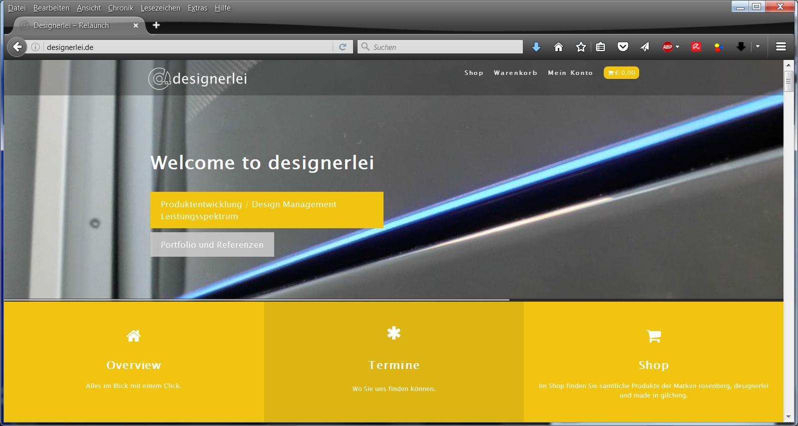 designerlei-startpage